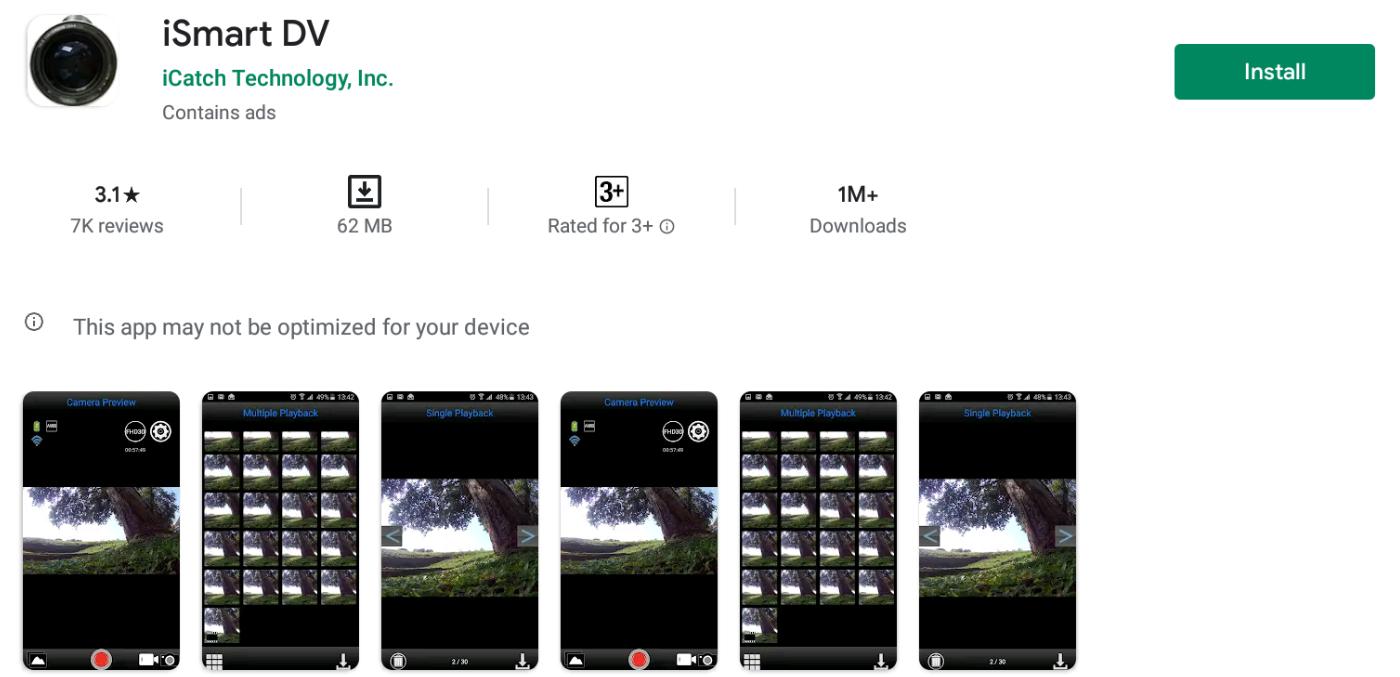 Ismart Dv App For Windows