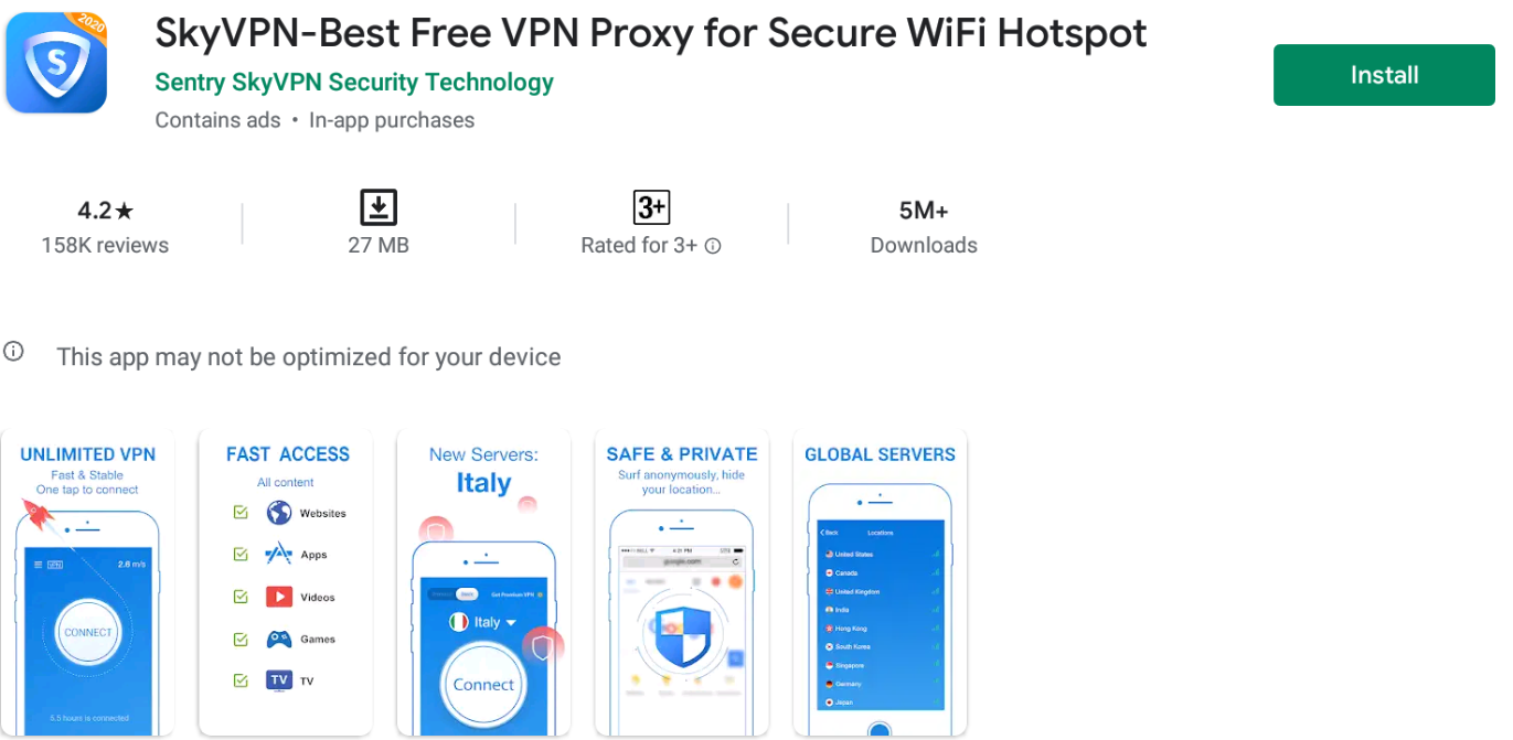 Sky Vpn For Windows