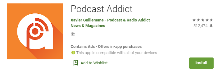 Podcast Addict for mac