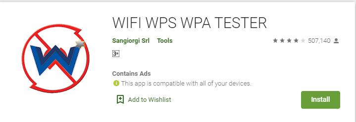 WPS WPA Tester for mac