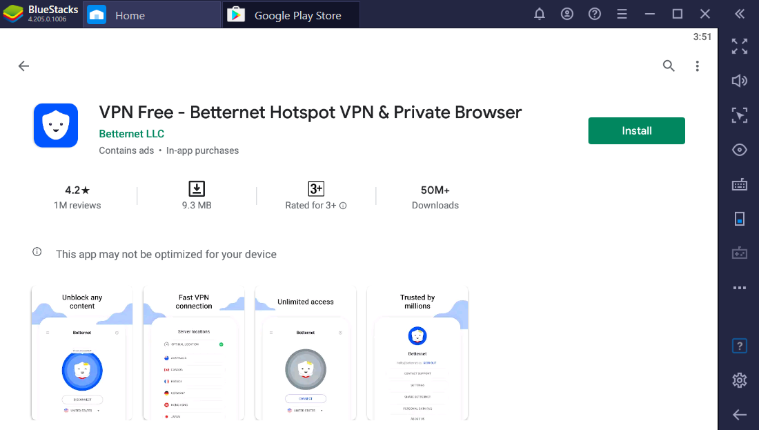 Betternet VPN for mac