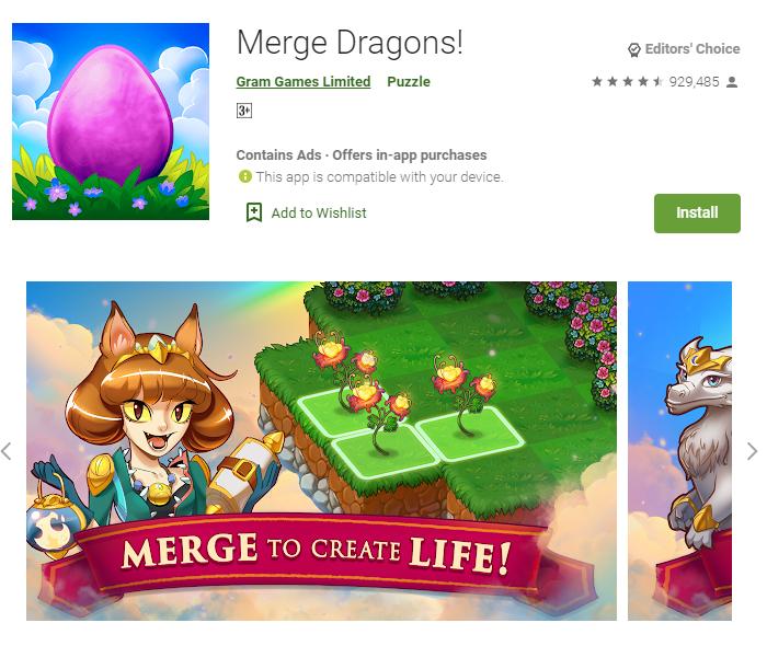 Merge Dragons for Mac