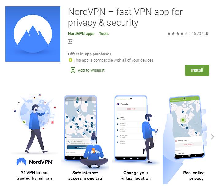 NordVPN for windows