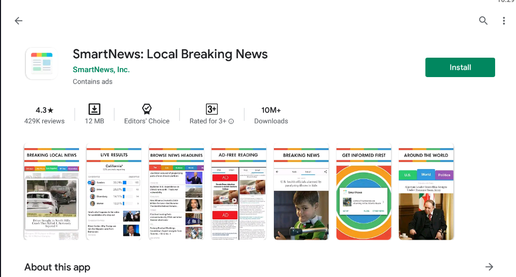 SmartNews for windows