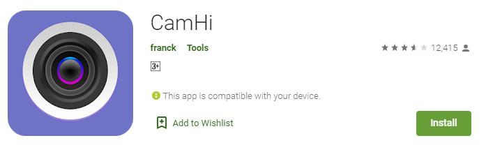 CamHi for windows
