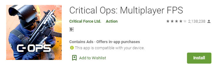 Critical Ops for windows