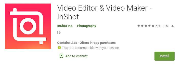 InShot for windows