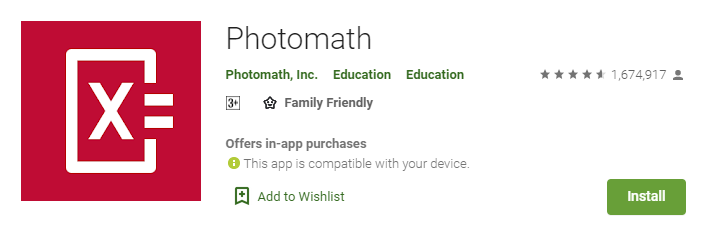Photomath for windows