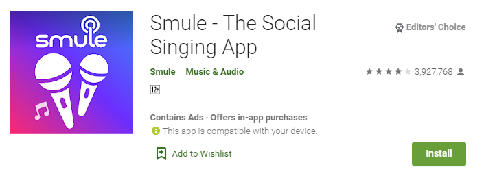smule app for windows