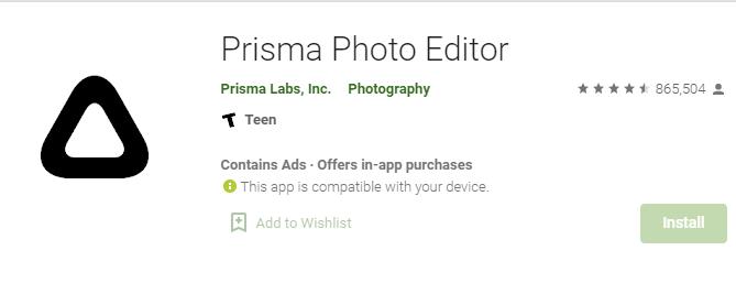 Prisma for mac