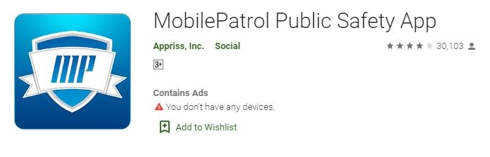 MobilePatrol for windows