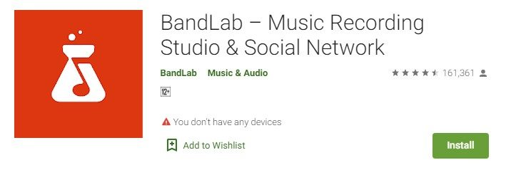 BandLab for windows
