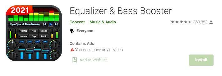 Equalizer App for PC