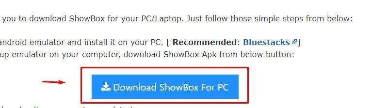 Show Box for windows