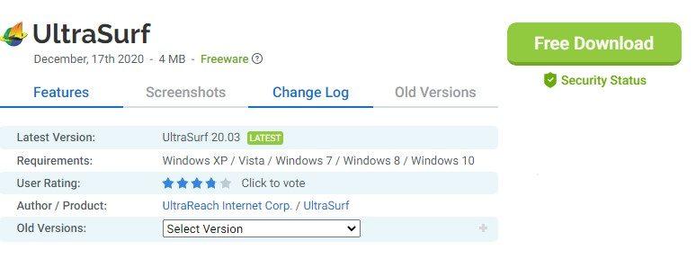 UltraSurf for mac