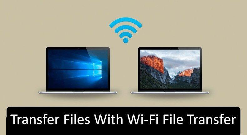 Wi-Fi file transfer for WINDOWS
